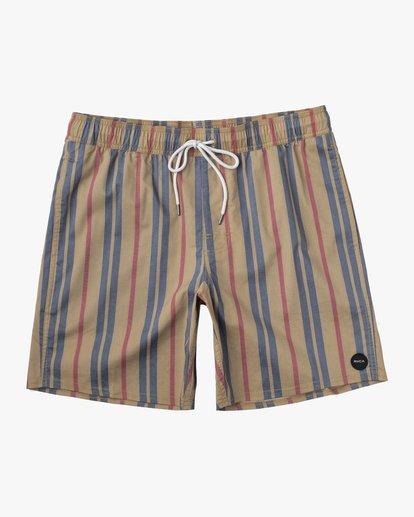 "0 Barnes Elastic Boardshorts 17"" Multicolor AVYBS00115 RVCA"