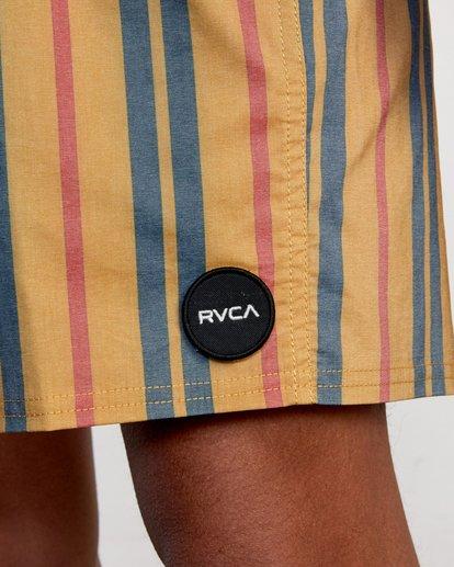 "3 Barnes Elastic Boardshorts 17"" Multicolor AVYBS00115 RVCA"