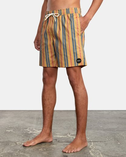 "5 Barnes Elastic Boardshorts 17"" Multicolor AVYBS00115 RVCA"