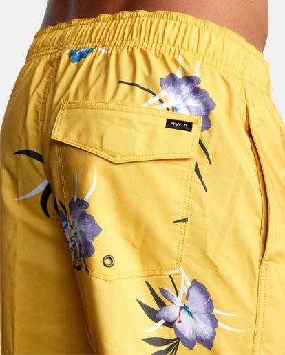 "8 Perry Elastic Boardshorts 17"" White AVYBS00126 RVCA"