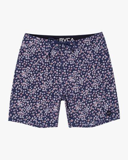 """0 VA Pigment Boardshorts 18"""" Blue AVYBS00131 RVCA"""