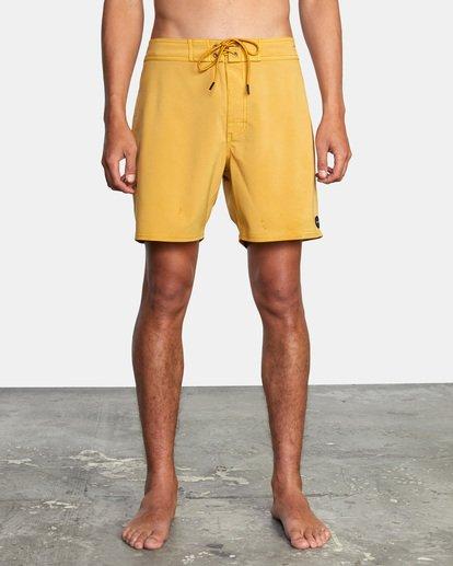 """1 VA Pigment Boardshorts 18"""" Multicolor AVYBS00131 RVCA"""