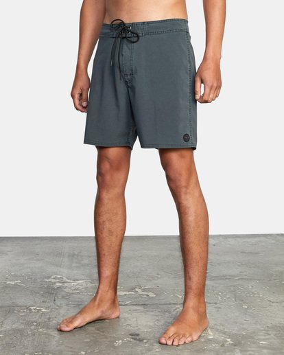 "3 VA Pigment Boardshorts 18"" Orange AVYBS00131 RVCA"