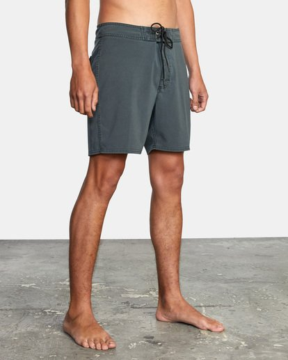 "4 VA Pigment Boardshorts 18"" Orange AVYBS00131 RVCA"