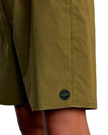 "3 VA Pigment Boardshorts 18"" Brown AVYBS00131 RVCA"