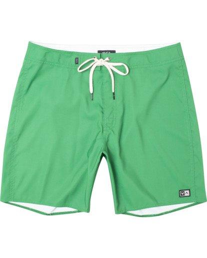 "0 Stanton Boardshorts 17"" Green AVYBS00145 RVCA"