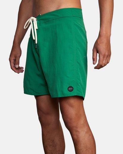 "5 Stanton Boardshorts 17"" Green AVYBS00145 RVCA"