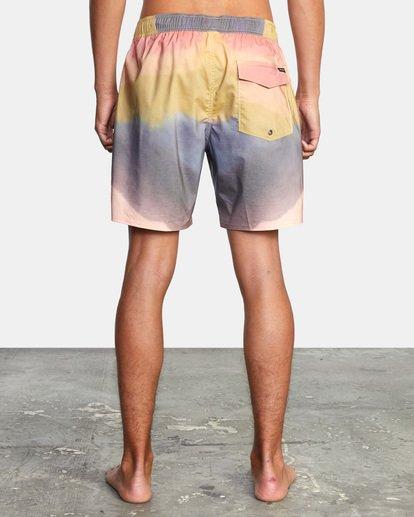 "2 Dana Trippe Trippy Elastic Boardshorts 17"" Grey AVYBS00155 RVCA"