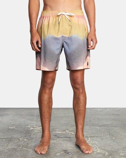 "1 Dana Trippe Trippy Elastic Boardshorts 17"" Grey AVYBS00155 RVCA"