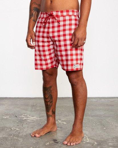 "5 Evan Mock | Palaka Boardshorts 18"" Brown AVYBS00163 RVCA"