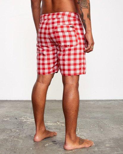 "6 Evan Mock | Palaka Boardshorts 18"" Brown AVYBS00163 RVCA"