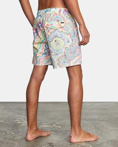 "7 Kelsey Elastic Boardshorts 17"" Grey AVYBS00166 RVCA"