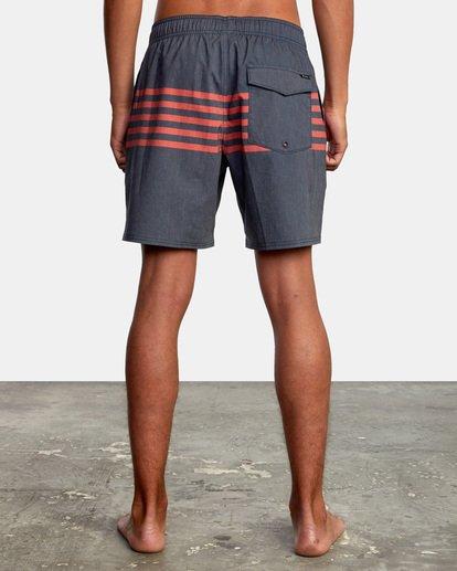 "2 Sutton Elastic Shorts 17"" Blue AVYBS00172 RVCA"