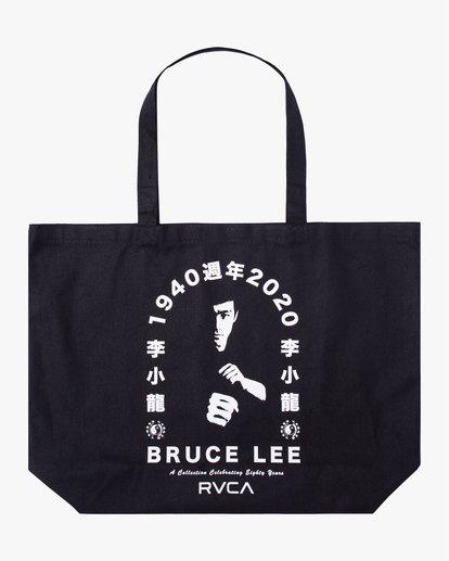 0 BRUCE LEE EIGHTY YEARS TOTE BAG Black AVYBT00108 RVCA