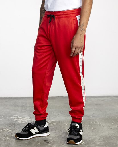 3 NORE TRACK PANT Brown AVYFB00104 RVCA