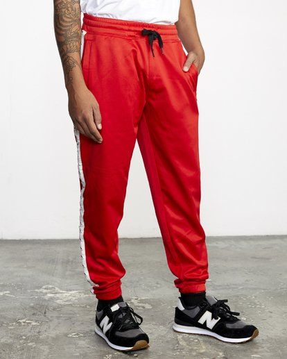 6 NORE TRACK PANT Brown AVYFB00104 RVCA