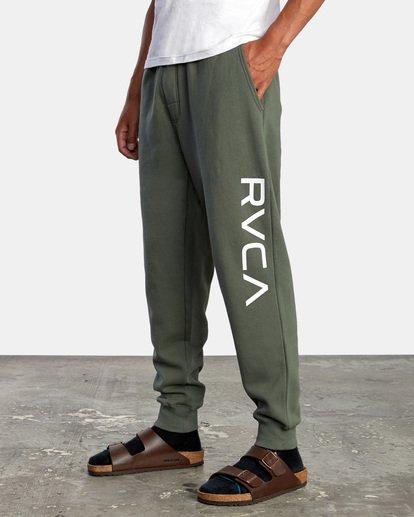 3 BIG RVCA PANT Green AVYFB00111 RVCA