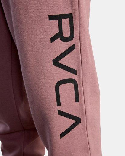 2 BIG RVCA PANT Purple AVYFB00111 RVCA