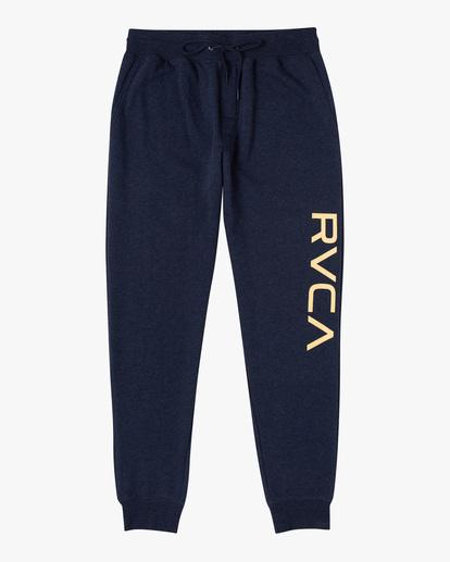 0 Big RVCA Sweatpants Blue AVYFB00119 RVCA