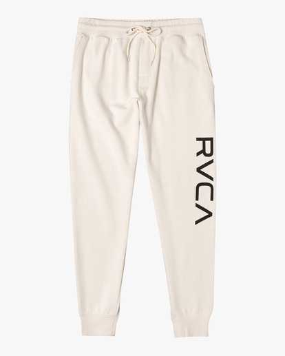 0 Big RVCA Sweatpants Silver AVYFB00119 RVCA