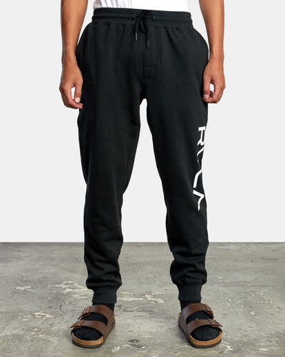 1 Big RVCA Sweatpants Black AVYFB00119 RVCA