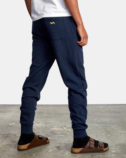 5 Big RVCA Sweatpants Blue AVYFB00119 RVCA