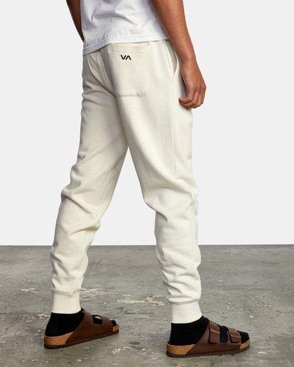 5 Big RVCA Sweatpants Silver AVYFB00119 RVCA