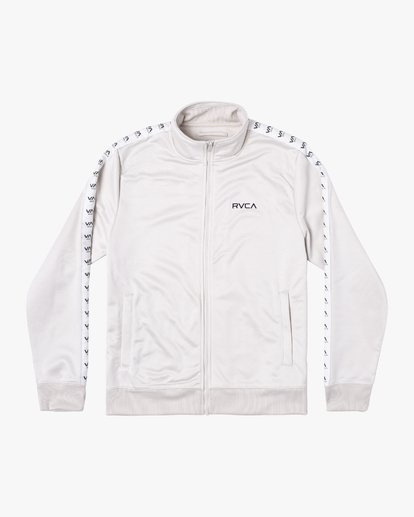 0 NORE TRACK JACKET Silver AVYFT00155 RVCA