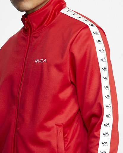 4 NORE TRACK JACKET Brown AVYFT00155 RVCA
