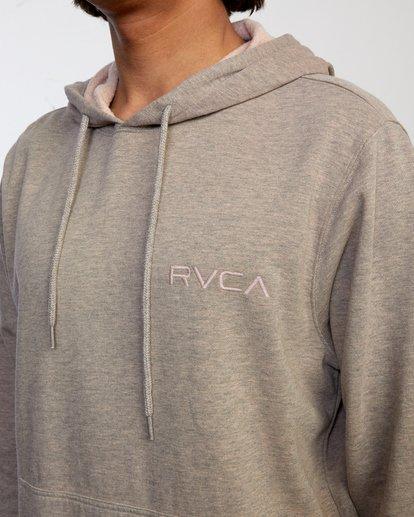 3 SHANE OVERDYE PULLOVER HOODIE Grey AVYFT00158 RVCA