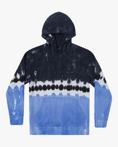 0 Tonally Tie-Dye III Pullover Hoodie Black AVYFT00182 RVCA