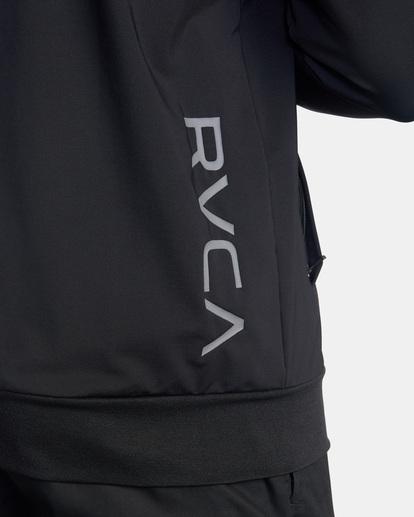 7 Trainer Track Jacket Black AVYFT00190 RVCA