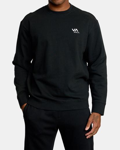 0 VA Essential Sweatshirt Black AVYFT00192 RVCA