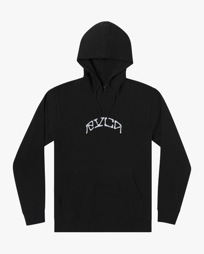0 Kevin Ancell | St. Margret Hoodie Black AVYFT00196 RVCA