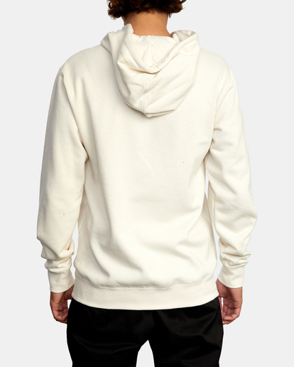 2 Pennant Pullover Hoodie Silver AVYFT00199 RVCA