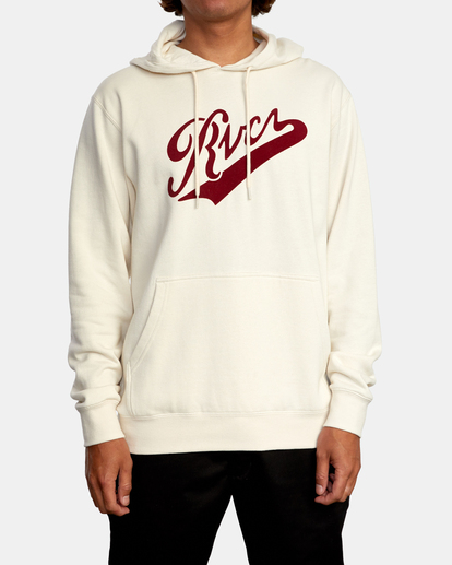 1 Pennant Pullover Hoodie Silver AVYFT00199 RVCA