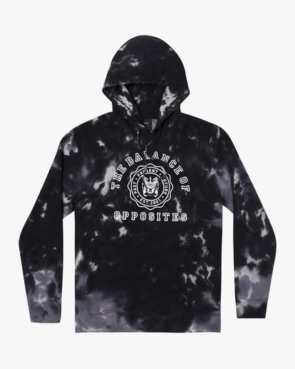 0 Annex Pullover Hoodie Black AVYFT00201 RVCA