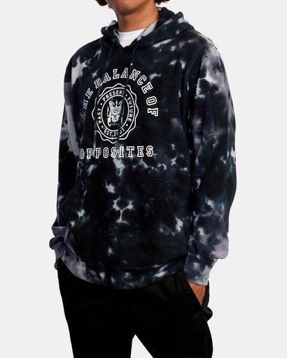 4 Annex Pullover Hoodie Black AVYFT00201 RVCA