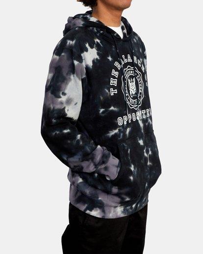 5 Annex Pullover Hoodie Black AVYFT00201 RVCA