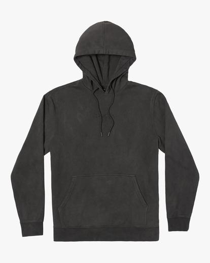 0 Tonally Pullover Hoodie Black AVYFT00210 RVCA