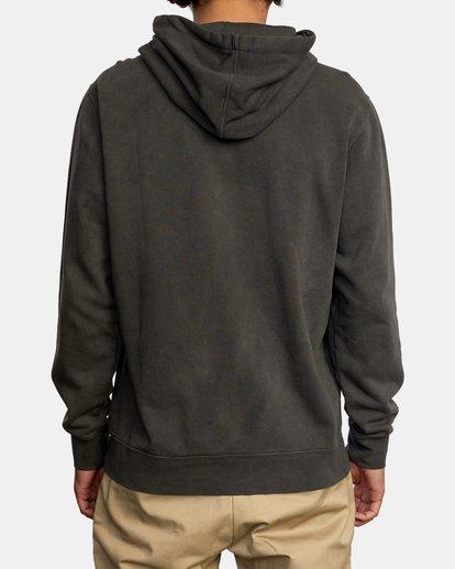 2 Tonally Pullover Hoodie Black AVYFT00210 RVCA