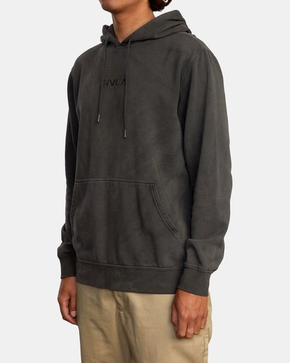 4 Tonally Pullover Hoodie Black AVYFT00210 RVCA