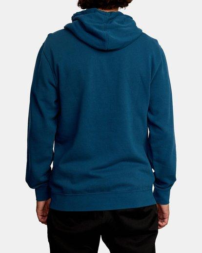 2 Tonally Pullover Hoodie Green AVYFT00210 RVCA