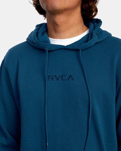 3 Tonally Pullover Hoodie Green AVYFT00210 RVCA