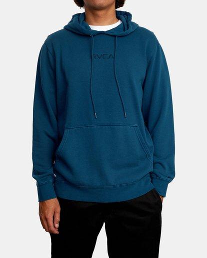 1 Tonally Pullover Hoodie Green AVYFT00210 RVCA