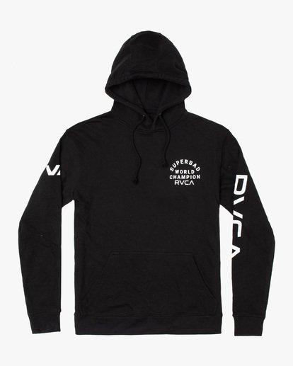 0 Seniesa Estrada | VA Sport x Seniesa Superbad Pullover Hoodie Black AVYFT00262 RVCA