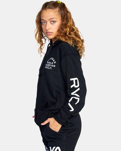 7 Seniesa Estrada | VA Sport x Seniesa Superbad Pullover Hoodie Black AVYFT00262 RVCA