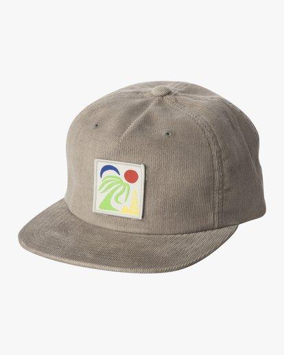 0 BAILEY CLASPBACK HAT Grey AVYHA00140 RVCA