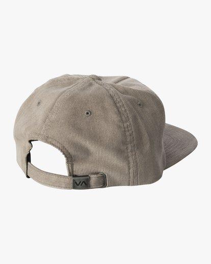 1 BAILEY CLASPBACK HAT Grey AVYHA00140 RVCA
