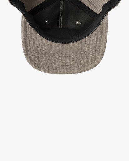 2 BAILEY CLASPBACK HAT Grey AVYHA00140 RVCA